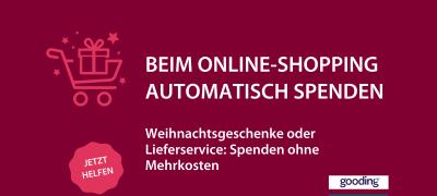 Beim nächsten Online-Einkauf spenden