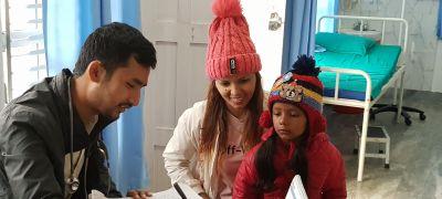 Ein Tag im MedicalCare Center in Satrasaya